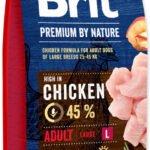 Brit Premium by Nature Adult L - recenze a zkušenosti
