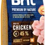 Brit Premium by Nature Adult M - recenze a zkušenosti
