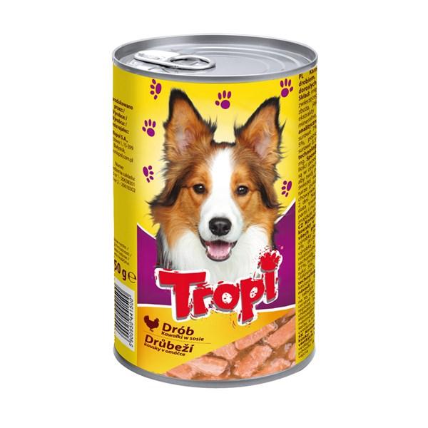 Nekvalitní konzerva pro psy